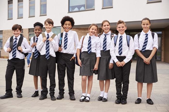 Nét đẹp văn hóa của một ngôi trường sẽ được thể hiện qua đồng phục học sinh