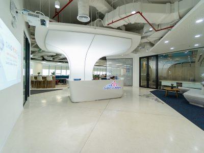 văn phòng hiện đại tiện nghi