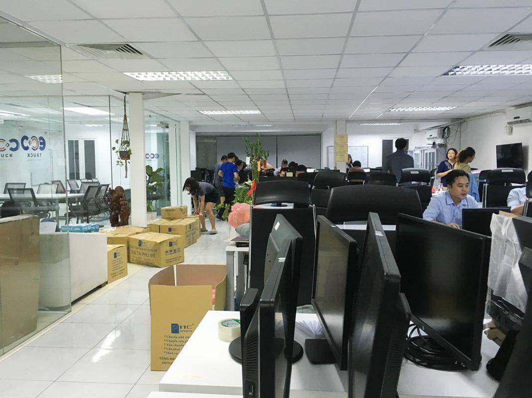 Chuyển văn phòng Logistic